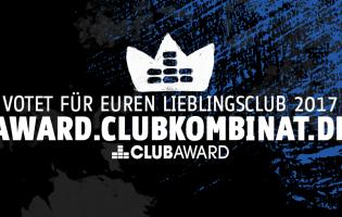 Online-Voting für Lieblingsclub des Jahres gestartet