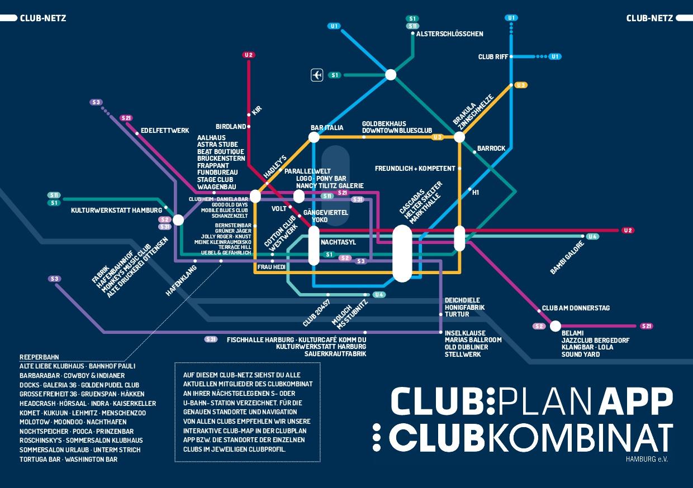 Club-Netz / Club-Map Clubkombinat