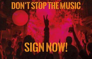 Gemeinschaftsaktion der Hamburger Club- und Veranstalterszene sendet Signal: Don't Stop The Music!