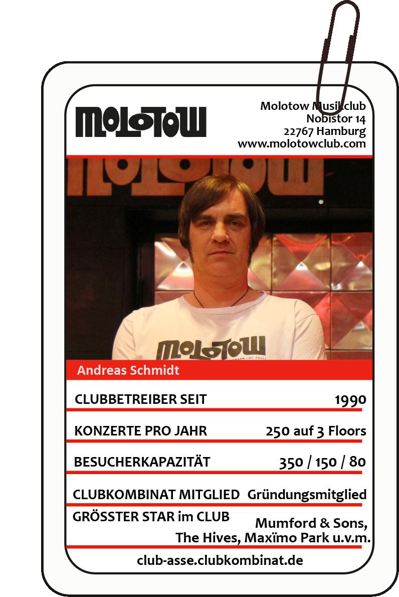 Club-Ass: Andi Schmidt / Molotow