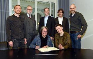 Musikalische Allianz unterschrieben