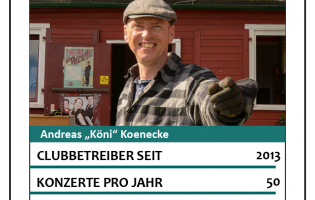"Club-Asse: Andreas ""Köni"" Koenecke // Inselklause"