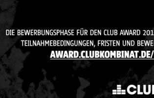 Startschuss für die Bewerbungsphase zum 9. Hamburger Club Award