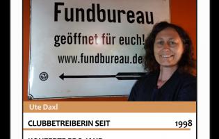 Club-Asse: Ute Daxl // Fundbureau