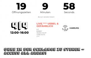 United We Stream Hamburg: Kickoff mit Helena Hauff am Samstag ab 12 Uhr auf ARTE Concert