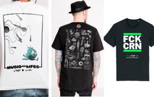 Drei Soli-Shirts zu Gunsten der Hamburger Clublandschaft