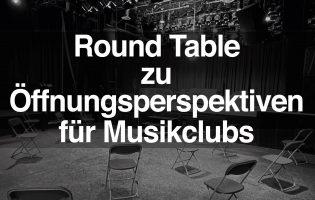 Round Table zwischen Clubkultur, Politik und Medienvertreter:innen