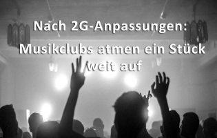 Hamburger Musikclubs atmen ein Stück weit auf